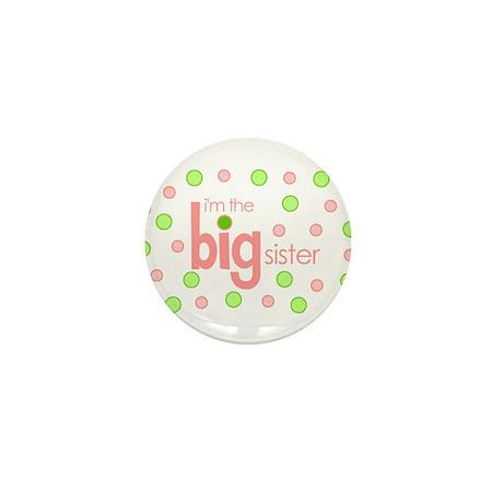 big sister t-shirt polkadot Mini Button