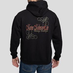 Swirl Marine Mother-In-Law Hoodie Sweatshirt
