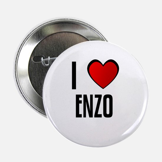 I LOVE ENZO Button