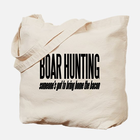Boar Hunting Tote Bag