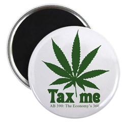 "AB 390 Tax me 2.25"" Magnet (10 pack)"