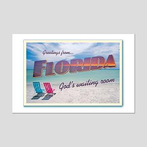 FLORIDA - Mini Poster Print