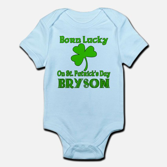 Personalized for BRYSON Infant Bodysuit