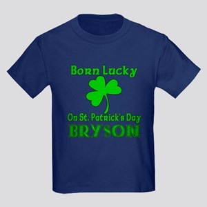 Personalized for BRYSON Kids Dark T-Shirt
