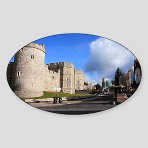Windsor Oval Sticker