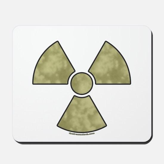 Radioactive Warning Mousepad