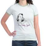 I'm a cunning linguist Jr. Ringer T-Shirt