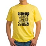 Desmond Is My Constant Yellow T-Shirt