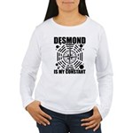 Desmond Is My Constant Women's Long Sleeve T-Shirt
