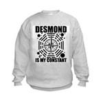 Desmond Is My Constant Kids Sweatshirt