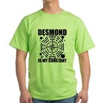 Desmond Is My Constant Green T-Shirt