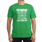 Desmond Is My Constant Men's Fitted T-Shirt (dark)