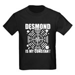 Desmond Is My Constant Kids Dark T-Shirt