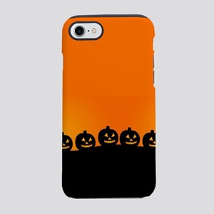 Spooky Halloween Pumpkins iPhone 8/7 Tough Case