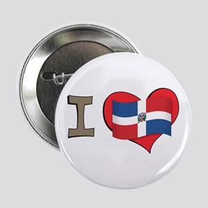 "I heart Dominican Republic 2.25"" Button"
