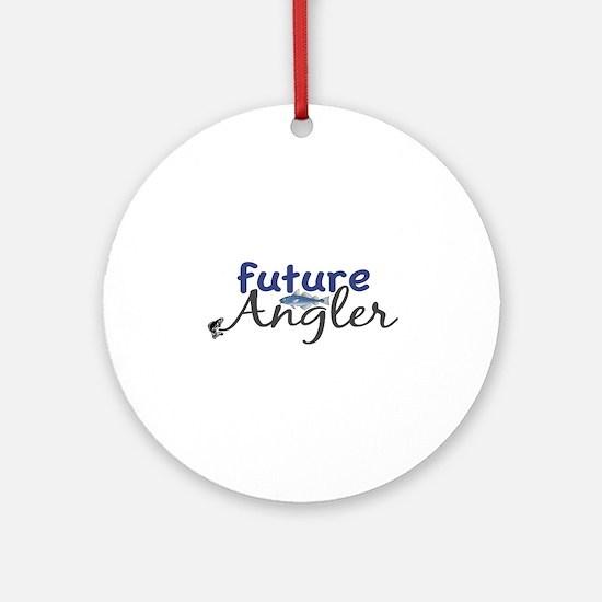 Future Angler Ornament (Round)