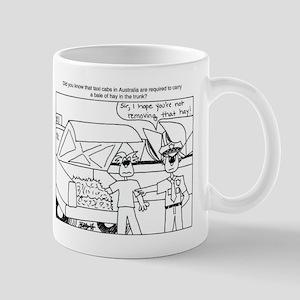 Keep Hay in the Trunk Mug