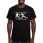 Get Hurt Men's Fitted T-Shirt (dark)