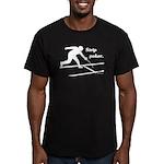 Strip Poker Men's Fitted T-Shirt (dark)
