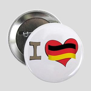 "I heart Germany 2.25"" Button"