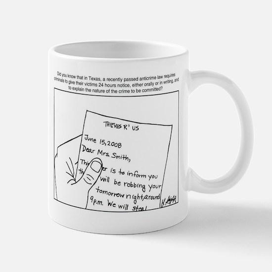 Thieves Must Notify You Mug