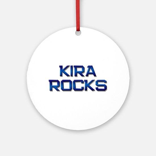kira rocks Ornament (Round)