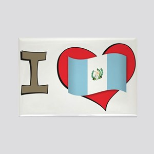 I heart Guatemala Rectangle Magnet