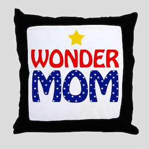 Wonder Mom Throw Pillow