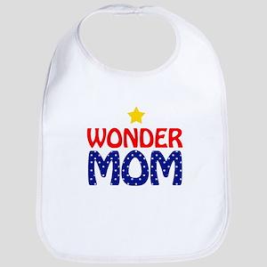 Wonder Mom Bib