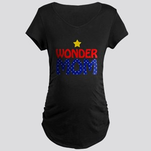Wonder Mom Maternity Dark T-Shirt