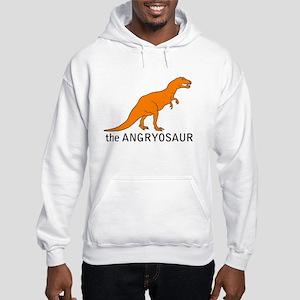 The Angryosaur! Hooded Sweatshirt