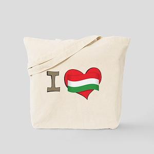 I heart Hungary Tote Bag