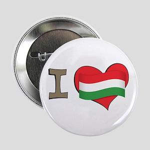 "I heart Hungary 2.25"" Button"