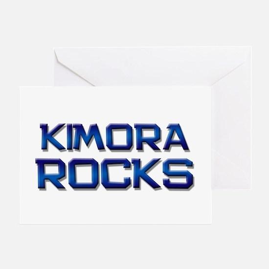 kimora rocks Greeting Card