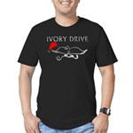 Ivory Drive Men's Fitted T-Shirt (dark)