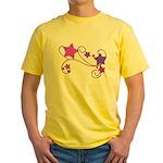 Glitter Stars Yellow T-Shirt
