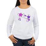 Glitter Stars Women's Long Sleeve T-Shirt