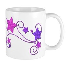 Glitter Stars Mug