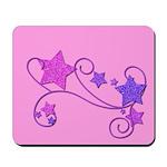 Glitter Stars Mousepad