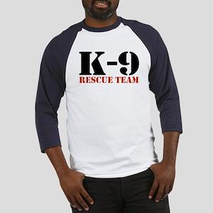 K-9 Rescue Team Baseball Jersey