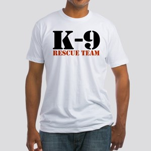 K-9 Rescue Team Fitted T-Shirt