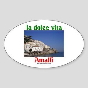 la dolce vita Amalfi Oval Sticker