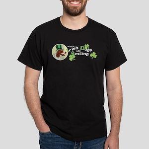 St. Patrick Irish Red and Whi Dark T-Shirt