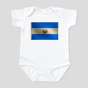 Salvadoran flag Infant Creeper