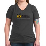 Creative Dreams Women's V-Neck Dark T-Shirt