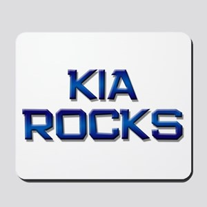 kia rocks Mousepad