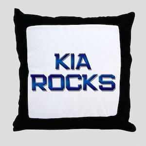 kia rocks Throw Pillow