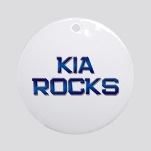 kia rocks Ornament (Round)