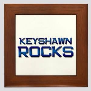 keyshawn rocks Framed Tile