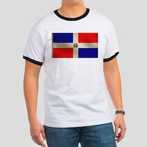 Dominican Flag Ringer T